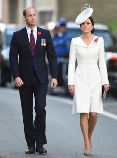 The Duke & Duchess of Cambridge Join Belgian Royals to Mark the Centenary of Passchendaele    30 JUL  The Duke and Duchess of Cambridge are in Belgium today and tomorrow for 100th Anniversary World War  I commemorations. They are meeting up with Belgium's King Philippe & Queen Mathilde for the events.
