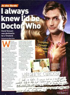 David Tennant Sexy | Thanks to Stephen for the scans