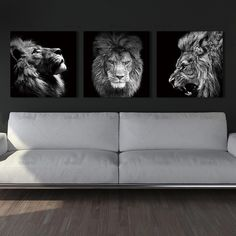 Buy Animal lion art prints Wall Art Pictures Canvas Painting abstract canvas poster painting decoration for living room art picture Metal Tree Wall Art, Framed Wall Art, Canvas Wall Art, Wall Art Prints, Wall Décor, Canvas Prints, Lion Wall Art, Lion Art, Lion Painting