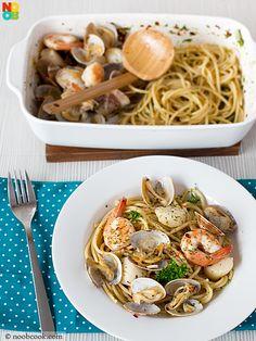 Seafood Spaghetti Recipe (Oven)