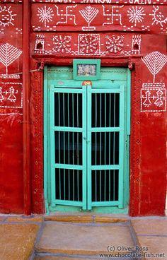 Door in Jaisalmer, India