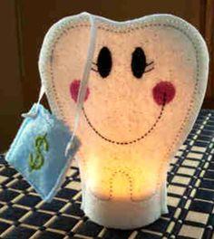 Tooth Fairy Flameless Tealight