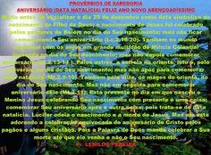 ANIVERSARIO (DATA NATALÍCIA)