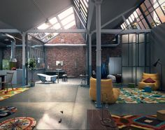 En nuestro artículo de hoy queremos mostrarte algunos de los diseños más impresionantes de interiores de lofts, descúbrelos en estas imágenes