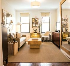 Grand Prize Winner of Apartment Therapy's Small Cool Contest: Garrett's 340 Square Feet in NYC