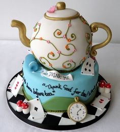 Mad hatter cake, £POA, cakesweetcake.co.uk