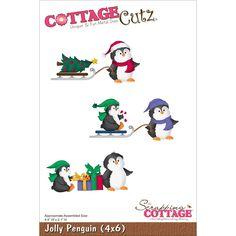 CottageCutz Die Jolly Penguin, , hi-res