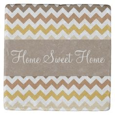 This design features a tomato tones chevron stripes pattern. The TEXT can be customized with your own. Check out my store for more colors and more products with this design. Tabletop Accessories, Stone Coasters, Custom Coasters, Drink Coasters, Hostess Gifts, House Warming, Your Design, Chevron, Backdrops