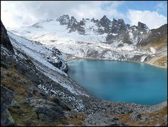 hike the 5 lakes route of Mt. Pizol, Switzerland.