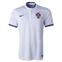 """According to Nike: The new Portugal away kit for the 2014 season is stylish and luxurious, infused with the best in performance innovation.  """"We wanted to give Portugal a classic and sophisticated look for their new away kit, which captures the flamboyance and brilliance of the football that saw them qualify for Brasil,"""" said Martin Lotti, Global Creative Director, Nike Football."""