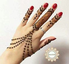 Tutorial Create Henna Design - 20 Best Easy Mehndi Design Step by Step Tutorial Images. The best tutorial step by step to create Henna design for beginner Indian Henna Designs, Back Hand Mehndi Designs, Mehndi Designs For Fingers, Best Mehndi Designs, Mehandi Designs, Heena Design, Henna Mehndi, Mehndi Mano, Mehendi
