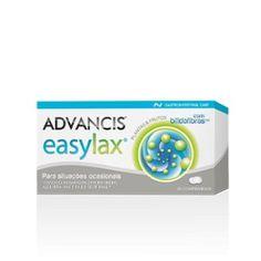 Advancis Easylax é um suplemento alimentar indicado para situações ocasionais de prisão de ventre e barriga inchada. É um laxante ocasional que regula o trânsito intestinal e equilibra a flora intestinal.
