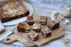 Brownie de queso | Alice Bakery