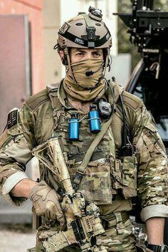 Norwegian FSK operator during a training exercise 2014. [640 x 960]