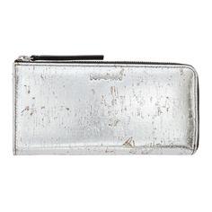 McQ Alexander McQueen Silver Intro Continental Wallet