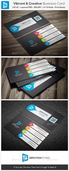 Vibrant & Creative Business Card