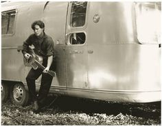 John mellencamp and an Airstream