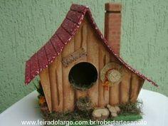 casa de passarinho em pintura country - Buscar con Google