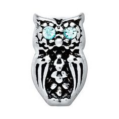 A personal favorite from my Etsy shop https://www.etsy.com/listing/230062366/silver-bright-eyed-owl-charm