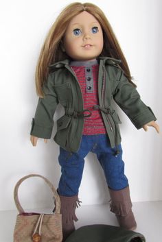 American Girl Doll Clothes Outdoor by JenAshleyDollDesigns on Etsy, $58.00