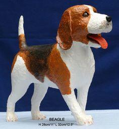 paper mache dog | paper mache dog models homepage