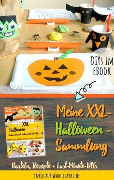 (unpaid advertising) eBook: My XXL Halloween collection: handicrafts, recipes + . Halloween Diy, Handicraft, Advertising, Company Logo, Last Minute, Recipes, Collection, Buffets, Monster