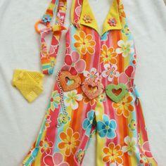 Lil Queeny custom casual wear. Girls size 3/4