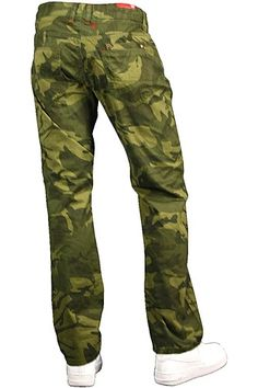 108f9da1d183bb Jordan Craig Camo Pants Slim Fit Olive - Brown - Black Sz. 36x32