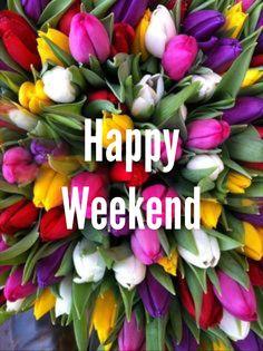 TGIF!  Wishing you all a great weekend.
