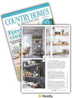Suggestion about Country Homes & Interiors Jul 2018 page 86 Country House Interior, Country Homes, Interiors, Rustic, Modern, Style, Country Cottages, Country Primitive, Swag