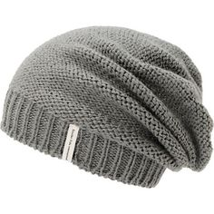 Improve your wardrobe while supporting a good cause and grab a Krochet Kids Ford grey slouch beanie. Instantly improve any outfit in a handmade crochet knit grey colorway, gathered front with a slouchy fit, ribbed hem that can also be folded, Krochet Kids brand tag, and inner tag signed by artisan.