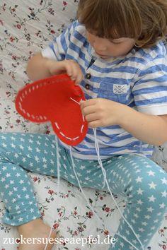 Sticken, Handarbeit, Kinder, Selbst gemacht, Konzentration, Selbstvertrauen, Hand-Augen Koordination, Waldorf, Geschenk für Paten, Geschenk für Oma und Opa, Geschenk für Mama und Papa