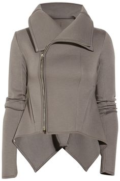 Rick Owens LILIES padded-jersey jacket