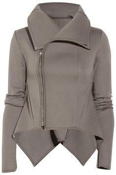 Rick OwensLILIES padded-jersey jacket