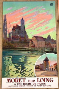 Image result for moret france postcards old