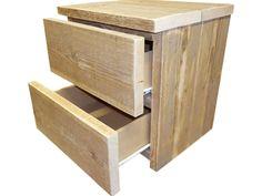 nachtkastje steigerhout - Google zoeken