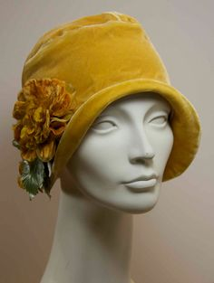 20er Jahre Style Cloche Hut Muster