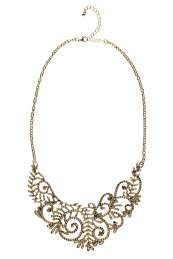 Halle Filgree Lace Ornate Collar Necklace