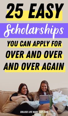 easy scholarships for high school, college and graduate students Scholarships For College Students, Easy Scholarships, Education College, College Life, College Scholarships, Freshman Advice, College Admission Essay, Highschool Freshman, College Application Essay