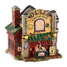 Department 56 - Halloween Village Ouija The Mystifying Oracle   Wooden Duck Shoppe