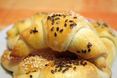 Croatian Cooking Klipići Rolls - Chasing the Donkey Albanian Recipes, Croatian Recipes, Hungarian Recipes, Russian Recipes, Russian Foods, Croatian Kifle Recipe, Healthy Cooking, Cooking Recipes, Bread Recipes