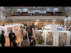 Vernissage Biennale d'art contemporain du Thymerais - YouTube