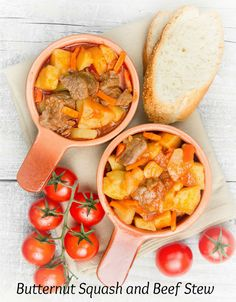 Stewed potatoes with meat, carrots and tomatoes