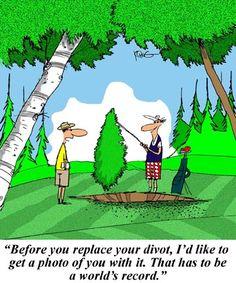 191 Best Golf Cartoons Images