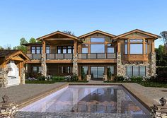 mountain craftsman house plans   ... Mountain, Sloping Lot, Luxury, Craftsman, Northwest House Plans & Home