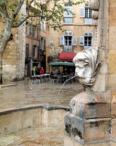 Aix en Provence...wonderfully urbane city. Delighted to discover how much college French could be found on my lips when I needed it!