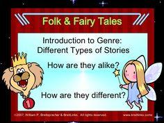 Folk Tales vs. Fairy Tales