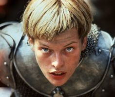 """Milla Jovovich in """" The messenger"""" directed by Luc besson Milla Jovovich, Jeanne D'arc, St Joan, Joan Of Arc, John Malkovich, Vincent Cassel, Helen Castor, Movies To Watch, Good Movies"""