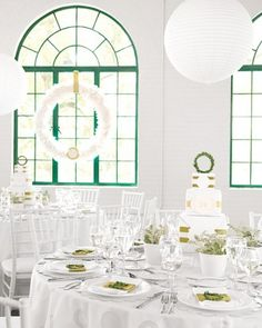 """See the """"Green and White Decor"""" in our  gallery"""