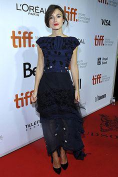 KEIRA KNIGHTLEY En la premiere de 'Laggies' en el Festival Internacional de Cine de Toronto 2014